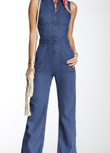 NWT Free People The Wind & More Retro Jumpsuit sz8