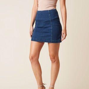 modern femme mini skirt NWT