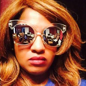 Geometric Design Sunglasses (brand new)