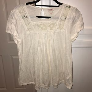 Cream Mossimo Tunic Size XL