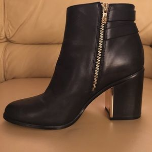 CALVIN KLEIN Cait Ankle Boots Size 9 *Worn Once*
