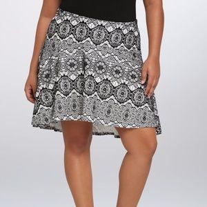 Torrid High Low Lace Skater Skirt