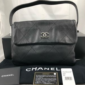 Authentic Classic Chanel bag with flap