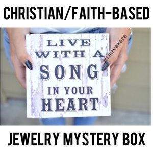 Resellers/Gift Box Faith Jewelry Mystery Box