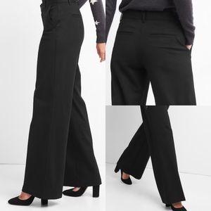 NWT Gap Knit Wide-leg Pants