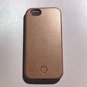 Rosegold Lumee Case for iphone6/7
