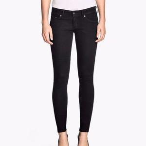 H&M Super Skinny Low Waist Skinny Jeans 25/30