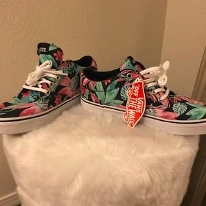 Tropical Print Vans Sneakers