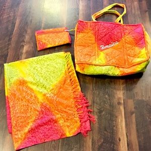 Carry-All Tote with matching Scarf