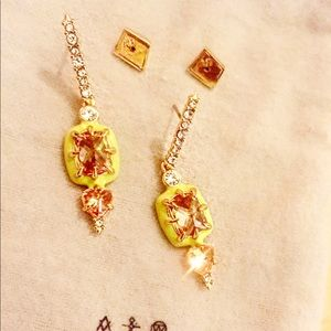 Alexis Bittar earrings new.