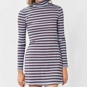 urban outfitters turtleneck sweater dress