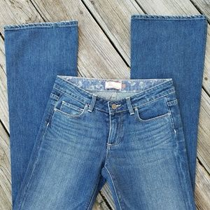 Paige Hollywood Hills Boot Cut Jeans