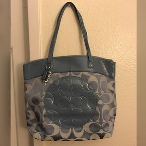 New Authentic Coach Tote