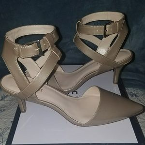BRAND NEW Nude strappy Heels
