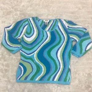Talbots casual sweater Size Medium