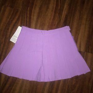 Lavender American Apparel skirt