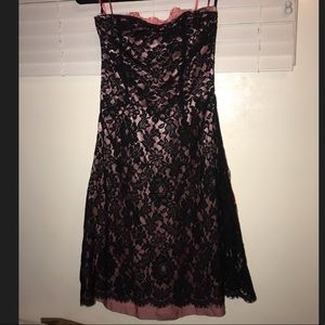 Lace n Satin dress