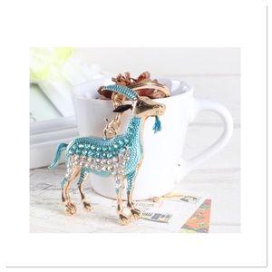 Zodiac Goat Purse Charm