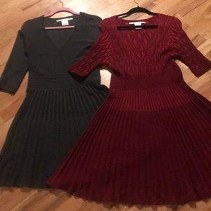 Two (2) Max Studio dresses