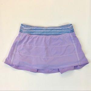Lululemon athletic skort lavender size 8