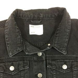 bde48fd08068 ASOS Jackets   Coats - Asos Denim Kids Black Jean Jacket size 18 (14 us