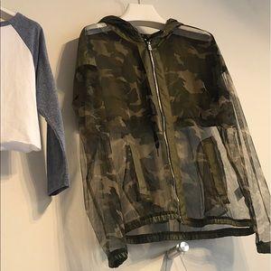 Army sheer jacket