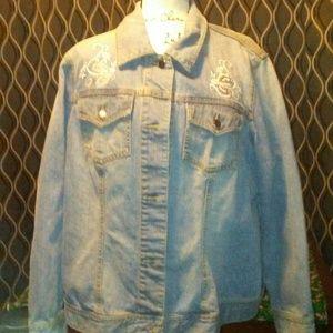 Coldwater Creek denim jacket