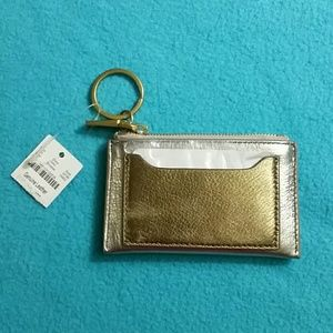 J. Crew Leather Coin Purse