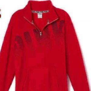 VS Pink red Pullover Sz medium nwot