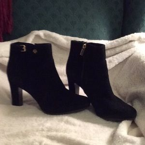 Tory Butch suede booties