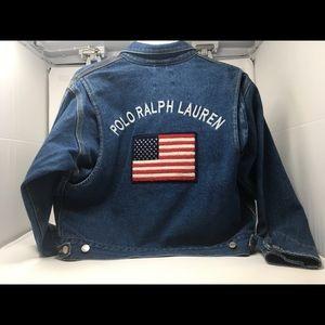 Vintage Ralph Lauren Denim Jacket Size Small