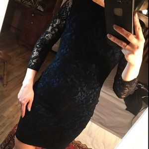 VS Tight Lace Dress