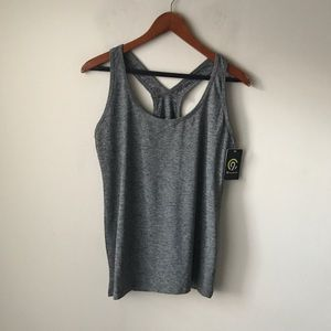 Champion grey athletic top