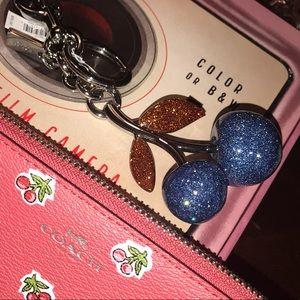 Coach Blue Cherries