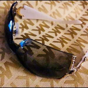 "Bulgari or ""Bvlgari""shield sunglasses..."