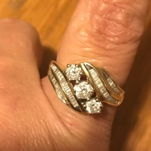Beautiful cocktail ring