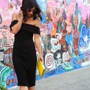 REFORMATION - Carrera Dress (black, small)