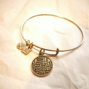 Alex and Ani positivity bangle