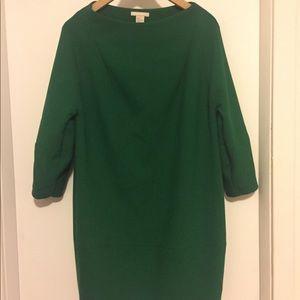 H&M Emerald Dress