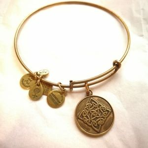 Alex and Ani celtic knot bangle