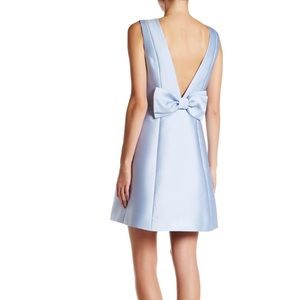 NWT Kate Spade Open Back Fit and Flare Bow Dress
