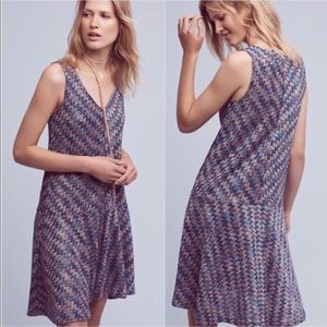 Anthropologie Maeve drop waist dress