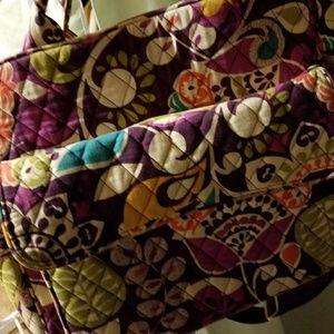 Vera Bradley Diaper Bag Backpack