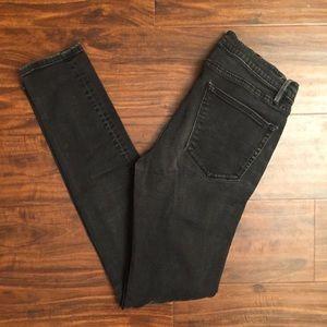 Madewell Skinny Skinny Dark Grey Jean
