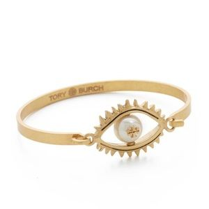 Tory burch evil eye bracelet bangle
