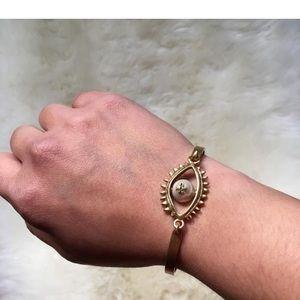 Tory Burch Jewelry - Tory burch evil eye bracelet bangle