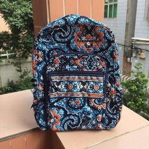 NWOT Vera Bradley Campus Tech Backpack Marrakesh