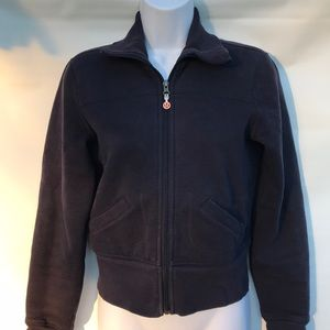Lululemon zip up jacket blue small
