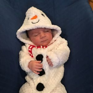 Other - 0 to 3 months snowman suit. Worn once for an hour!