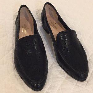 Kate Spade Black Loafer flat 6.5 Carima